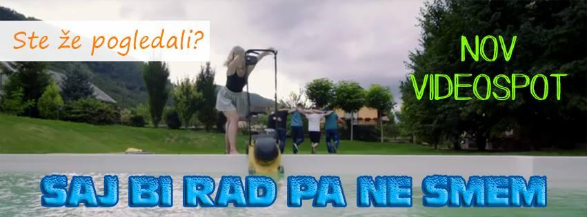 """Nova skladba in videospot """"SAJ BI RAD PA NE SMEM"""""""